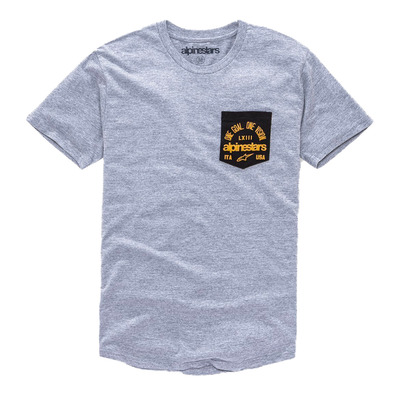HEARTH PREMIUM - Tee-shirt Homme grey heather