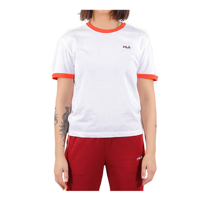 687051 NOREEN - Tee-shirt Femme bright white/fiesta/whitecap gray