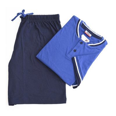 F06IT - Pyjama Homme blue brillant