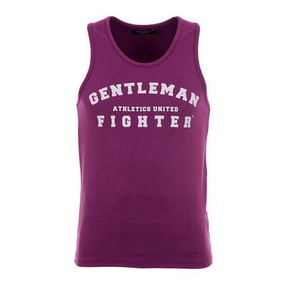 Gentleman Fighter AUTENTICO - Débardeur Homme prune