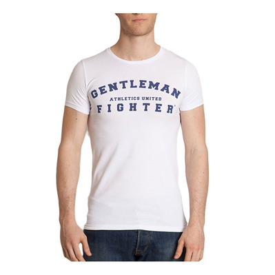 Gentleman Fighter AUTENTICO - Tee-shirt Homme blanc