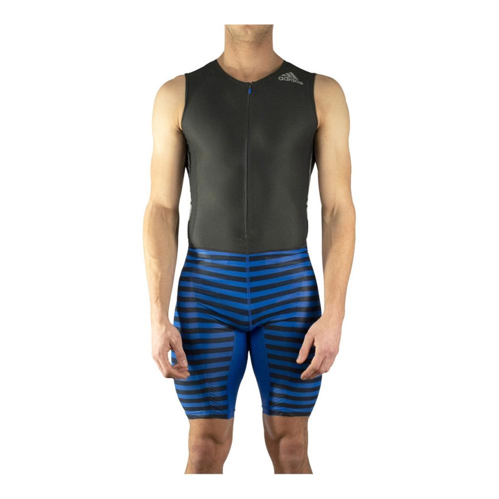 Para llevar Rosa Mecánica  ADIDAS Adidas AZ SL PU SUIT M - Trisuit - Men's - black/blue - Private  Sport Shop