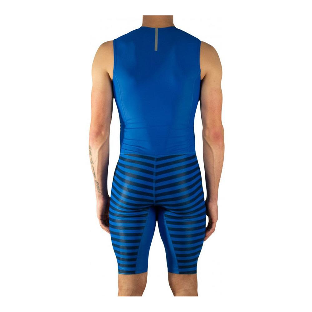 Deflector Nacarado pestaña  ADIDAS Adidas AZ SLV SUIT M - Trisuit - Men's - blue - Private Sport Shop