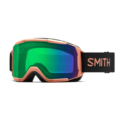 SHOWCASE OTG - Masque de ski Femme champagne/chromapop everyday green mirror