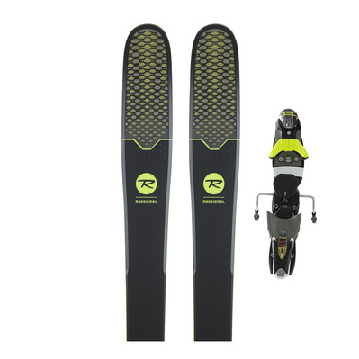 SOUL 7 - Skis freeride Homme + Fixations SPX12 DUAL B120 concrete yellow