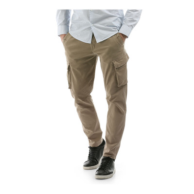 HERON - Pantalon Homme carbon brown