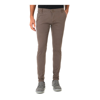 PACIFIC - Pantalon Homme carbonbrown