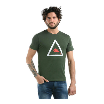 PYRAMID - Tee-shirt Homme military green
