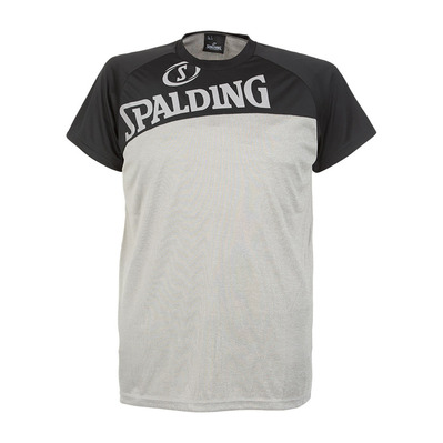 STREET - Camiseta hombre heather grey/black