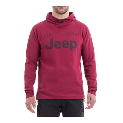 Outfitter MADE TO EXPLORE - Sudadera hombre pomegranate/magnet
