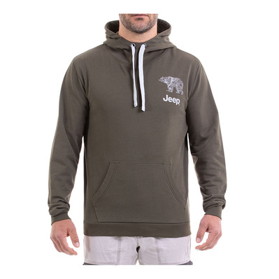 Outfitter BEAR - Sudadera hombre forest night/light grey