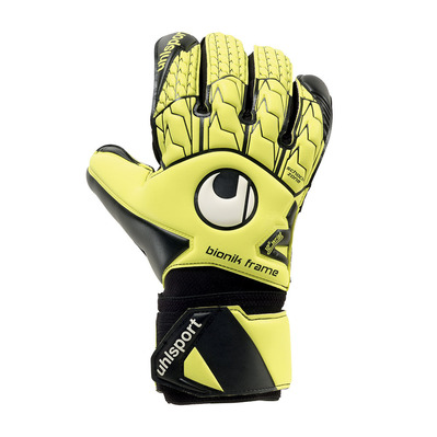 SUPERSOFT BIONIK - Gants gardien fluo yellow/black/white