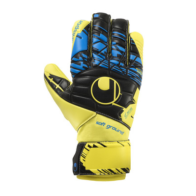 SPEED UP NOW SOFT HN COMP LITE - Gants gardien fluo yellow/black/hy