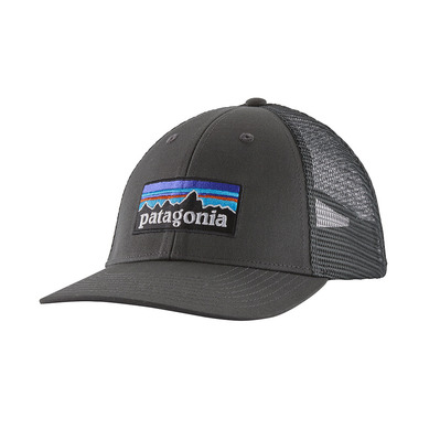 PATAGONIA - P-6 LOGO LOPRO - Casquette forge grey