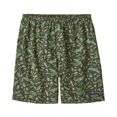 PATAGONIA - M's Baggies Longs - 7 in. Homme Alligators and Bullfrogs: Kale Green
