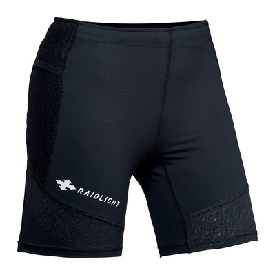 RAIDLIGHT - ACTIV STRETCH - Mallas cortas mujer black