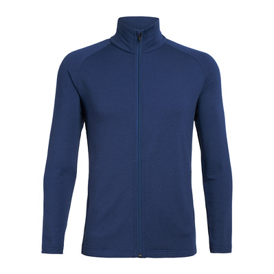 ICEBREAKER - Mens Victory LS Zip / ESTATE BLUE S Homme Estate Blue