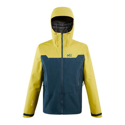 MILLET - KAMET LIGHT GTX - Chaqueta hombre orion blue/wild lime