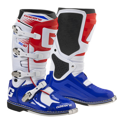 SG.10 - Bottes off-road white/red/blue
