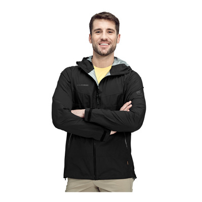 MAMMUT - Convey Tour HS Hooded Jacket Men Homme black