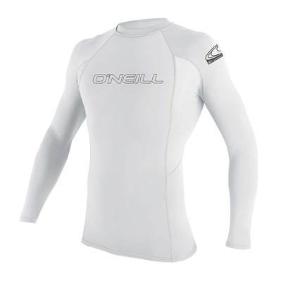 O'NEILL - Basic Skins L/S Rash Guard Homme 025 WHITE