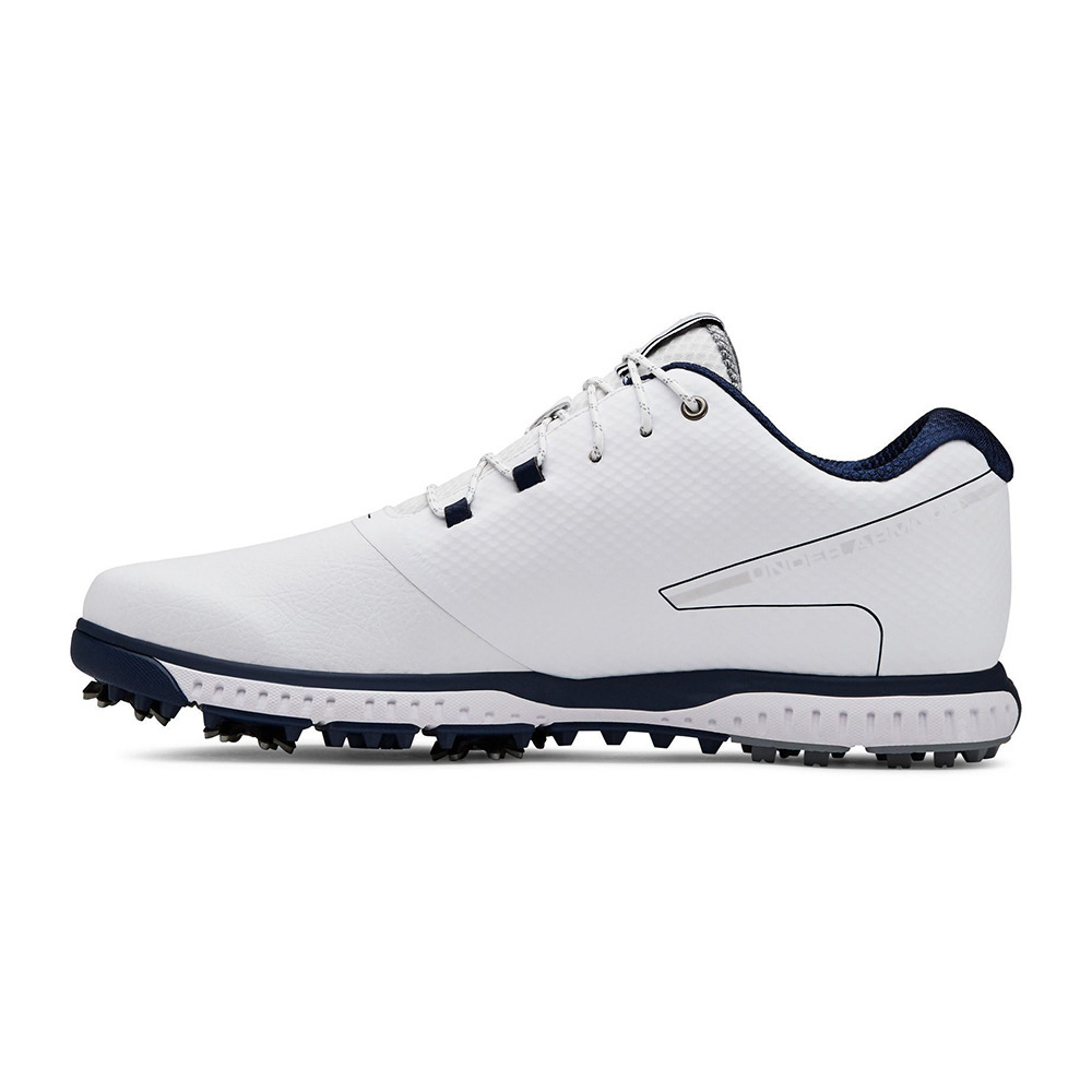 zapatos golf hombre under armour white
