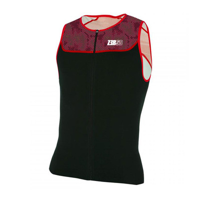 Z3ROD - Z3r0d START - Camiseta de triatlón hombre deep burgundy