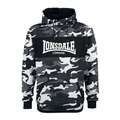 LONSDALE - DULWICH - Sudadera hombre camo grey