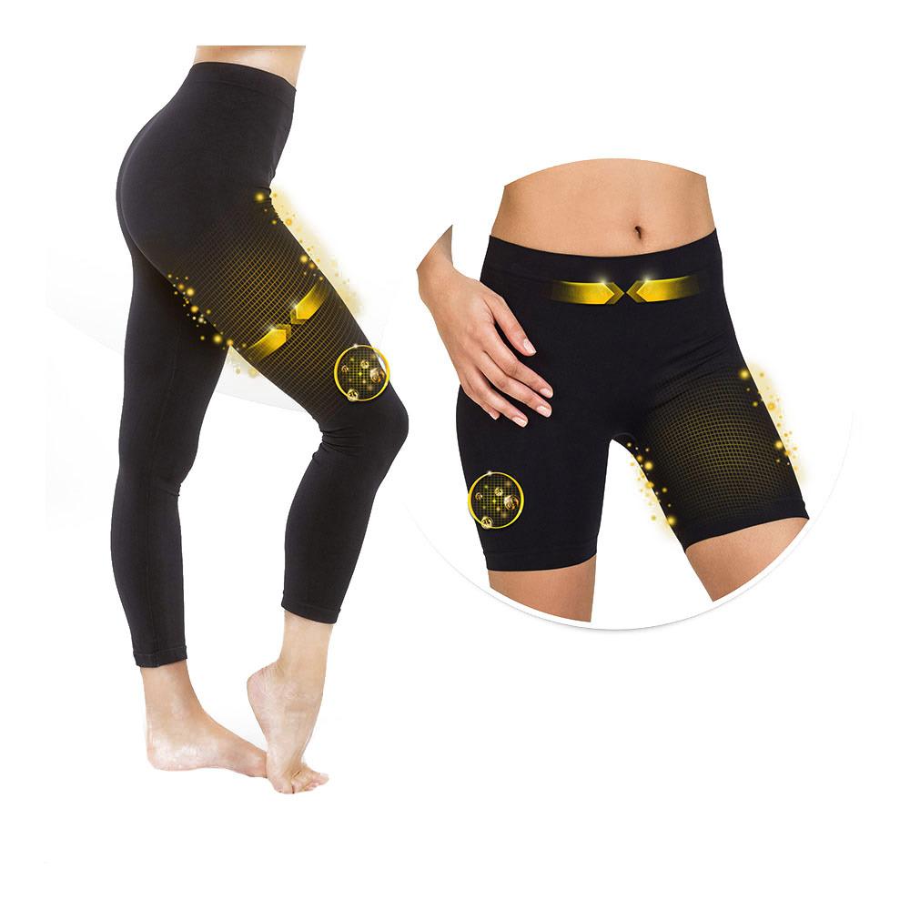 SKIN UP Skin Up SLIM BOX 1 Shorty + Legging Femme noir