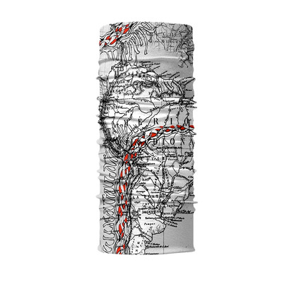 EXPLORE COOLMAX 8 en 1 - Foulard old map