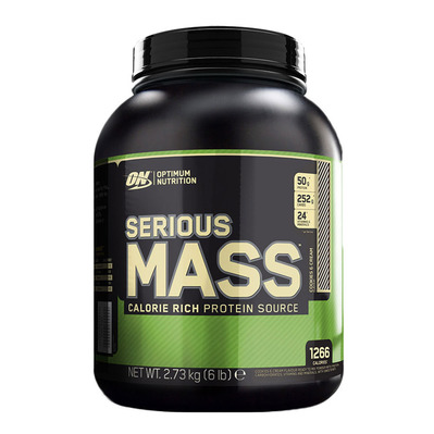 SERIOUS MASS - Gainer 2.73kg cookie