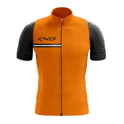 HEXAGONE - Maillot Homme orange fluo