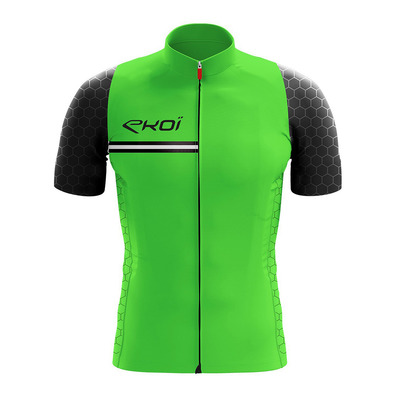HEXAGONE - Maillot Homme green fluo