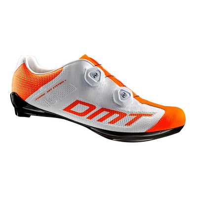 R1 SUMMER - Chaussures route white/orange fluo