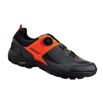 F1 - Chaussures off-road grey/orange fluo/black