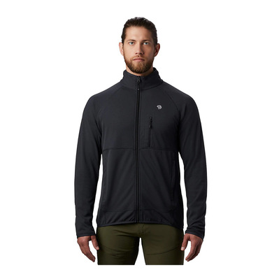 MOUNTAIN HARDWEAR - NORSE PEAK - Fleece - Men's - dark storm