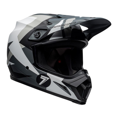 MX-9 MIPS® SEVEN BATTLESHIP - Casque off-road black/grey
