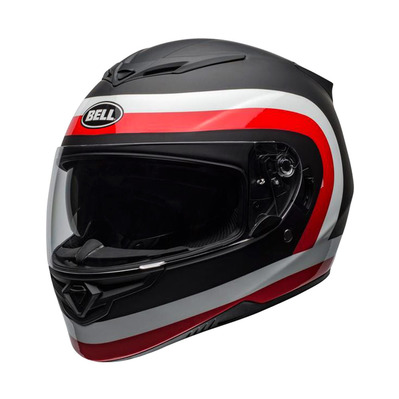 RS-2 CRAVE - Casque intégral mat/shiny black/white/red