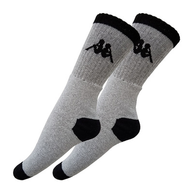T296-1 - Chaussettes x3 grey