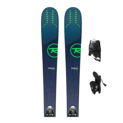 EXPERIENCE 84 AI - Skis all mountain + Fixations NX 12 GW B90 black