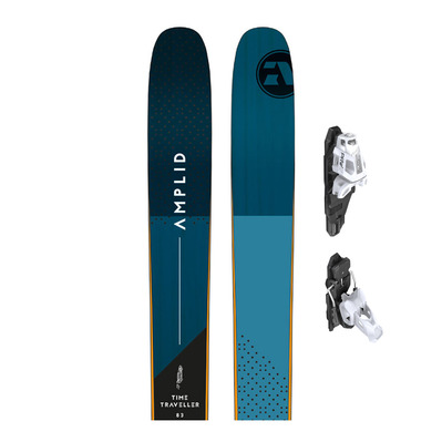 TIME TRAVELLER 83 18/19 - Skis piste + Fixations PRW 12 GW B85 matt white/black