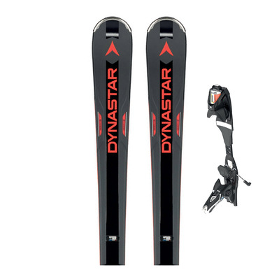 SPEED ZONE 14 PRO - Skis piste + Fixations SPX 12 ROCKERFLEX black icon