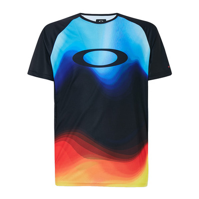 OAKLEY - MTB SS TECH - Camiseta hombre multicolor gradient