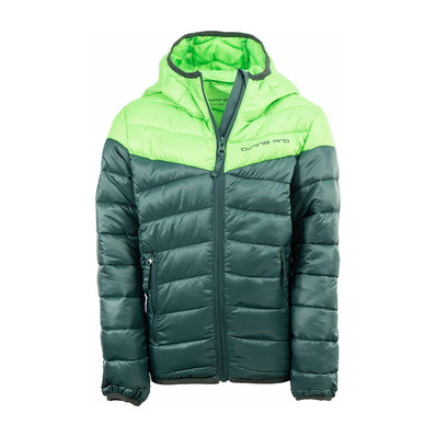 ALBERTO - Doudoune Junior neon green