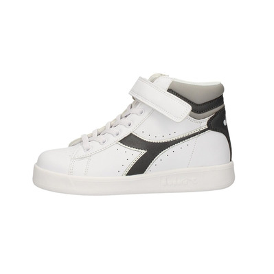 GAME P HIGH PS - Chaussures Junior white/black