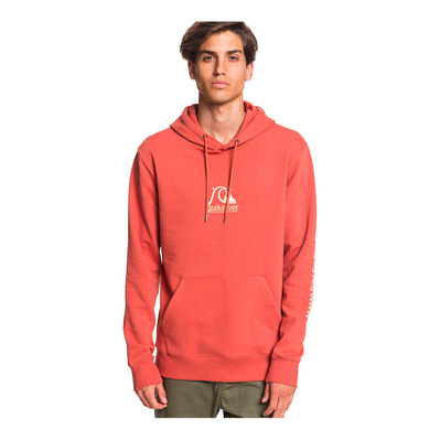QUIKSILVER - EMPTY ROOMS - Sweat Homme redwood