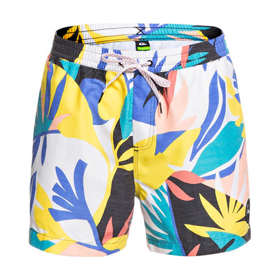 "QUIKSILVER - NO DESTINATION 15"" - Short de bain Homme snow white"