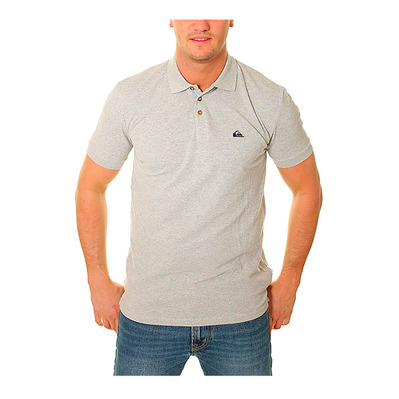 QUIKSILVER - LOIA - Polo Homme light grey heather