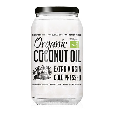 Diet food BIO EXTRA VIRGIN COCONUT OIL - Pot huile de coco 1000ml