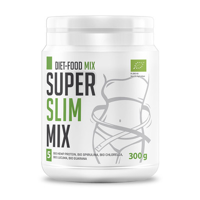 Diet food BIO SUPER SLIM MIX - Pot de poudre 300g